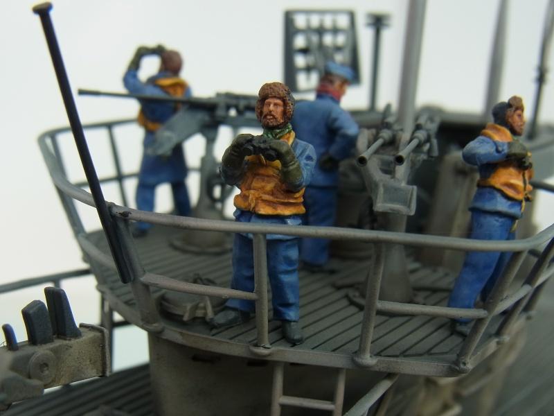 Mein U-Boot VII C 41 in 1:72 von Revell mit Figuren von Hecker & Goros Rimg0015
