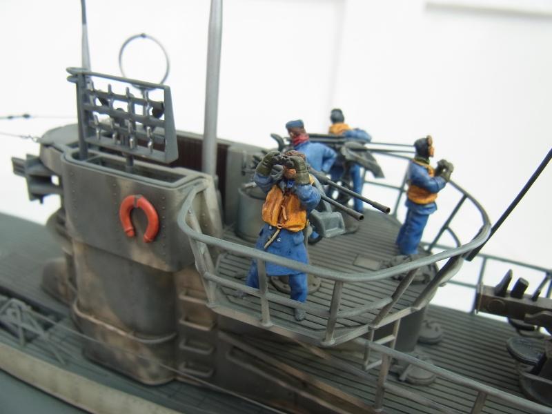 Mein U-Boot VII C 41 in 1:72 von Revell mit Figuren von Hecker & Goros Rimg0016