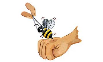 العلاج بقرص النحل Bee110