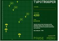 تعلم الكتابة على لوحة المفاتيح بسرعة TypoTrooper  Typo-t10
