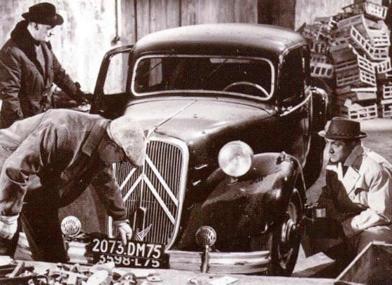 Citroen Traction 15 /6 Cabriolet 1939 Tracti11