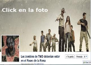 lOS zombies de TWD deberían estar en el Paseo de la Fam