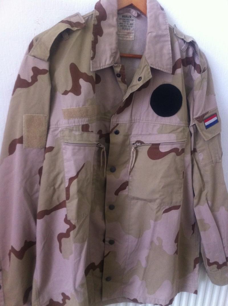 Dutch desert camouflage  jacket Afbeel10