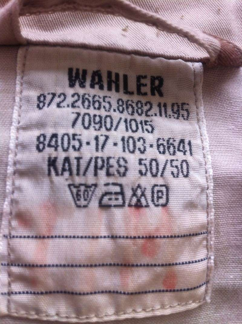 Dutch desert camouflage  jacket Afbeel11