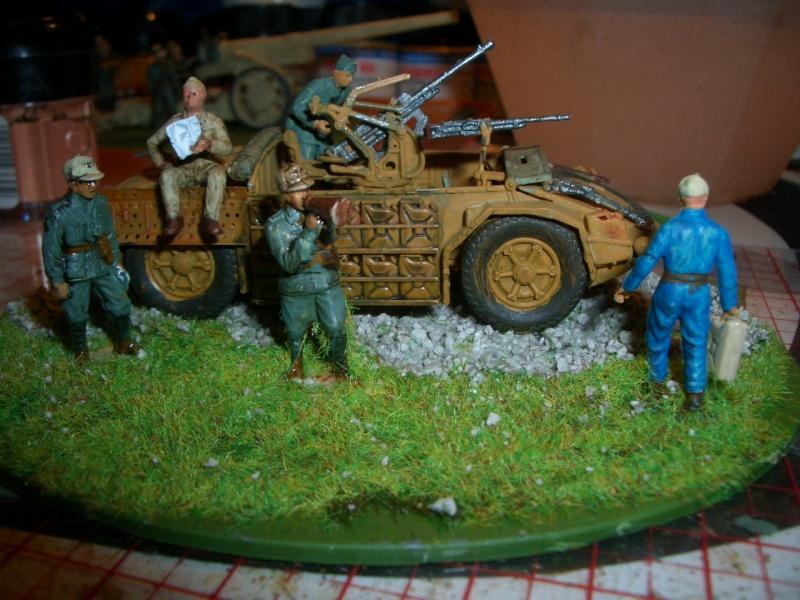 Italienische schwere Artillerie   149/40 Kanone   !:72 Cimg0217