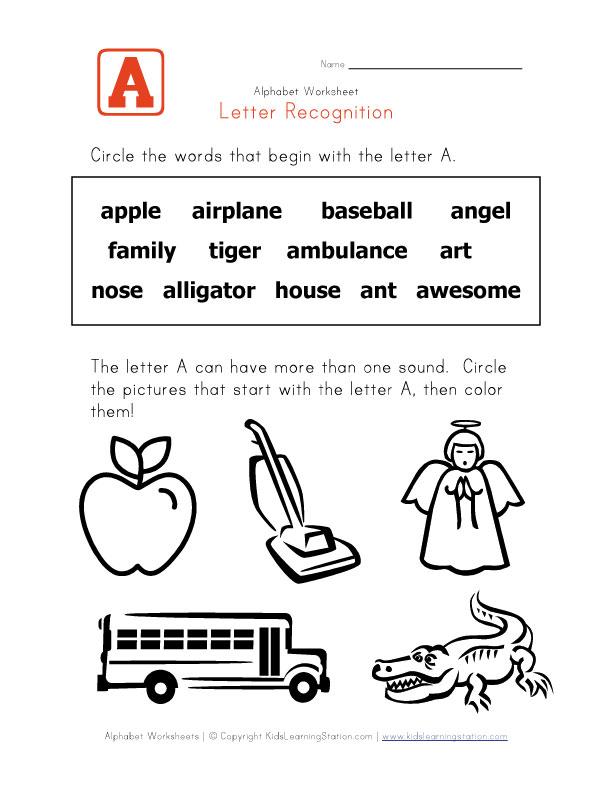 Letter Recognition  Words-10