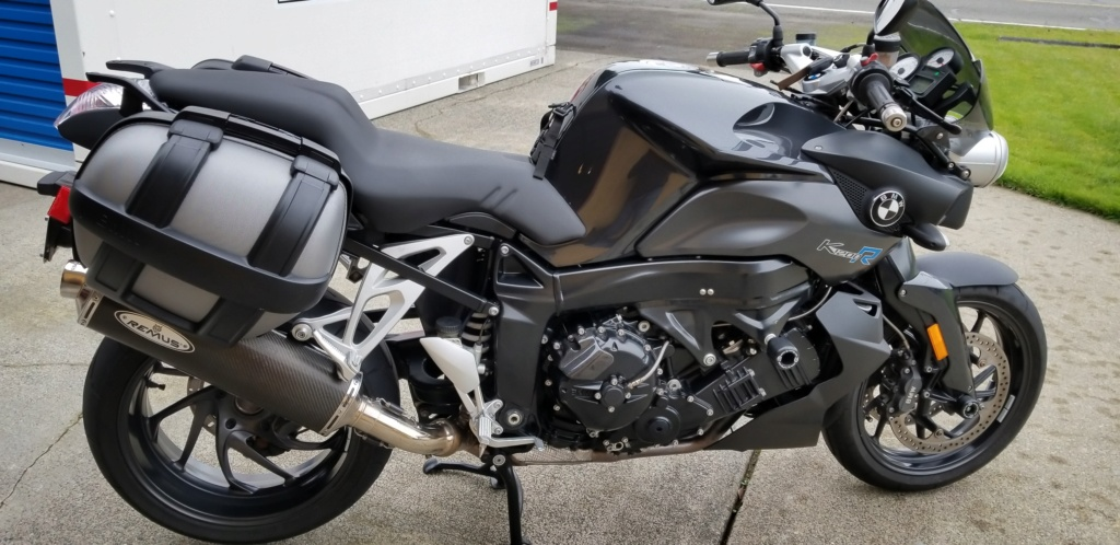 Two Bikes For Sale: '07 K1200R All Black & '04 R1150RT(Sold) 20181212