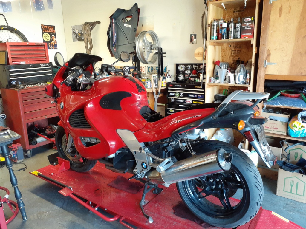 Better Red Than Dead '98 K1200RS Project 20200310
