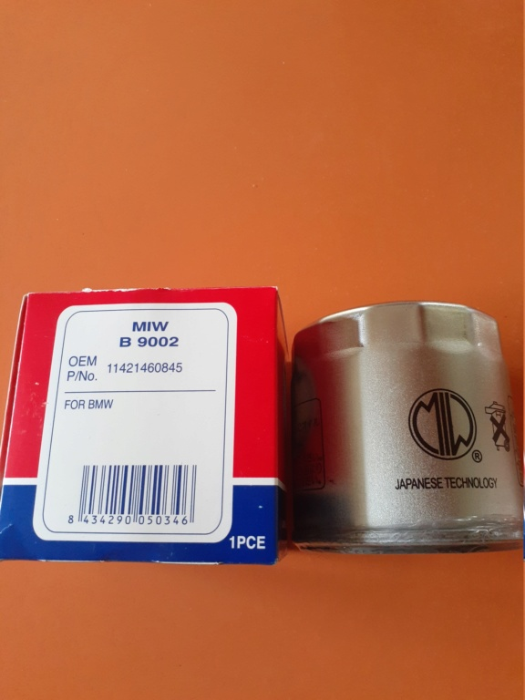 Replacement Oil Filter Source - Japanese-made MIW 20200444