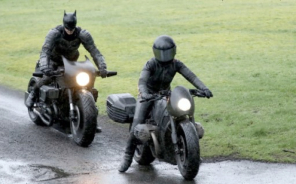 What is he riding? Batman10