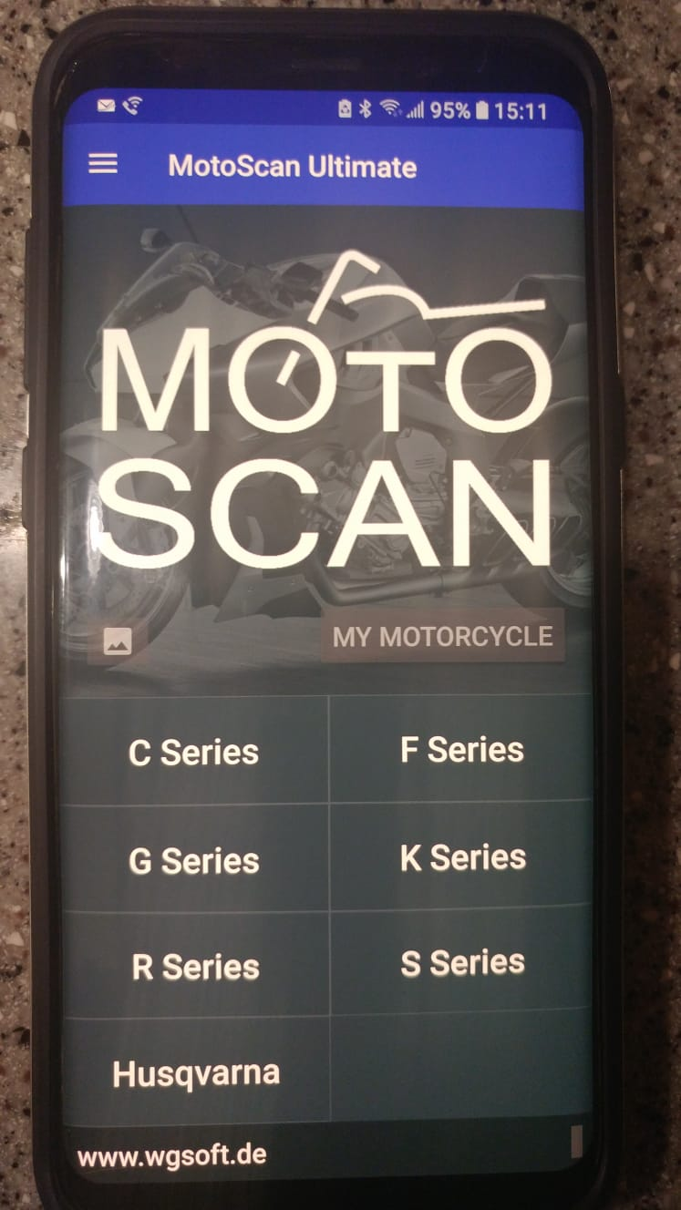 App & Hardware for Scanning Codes on Later Model Beemers Motosc11