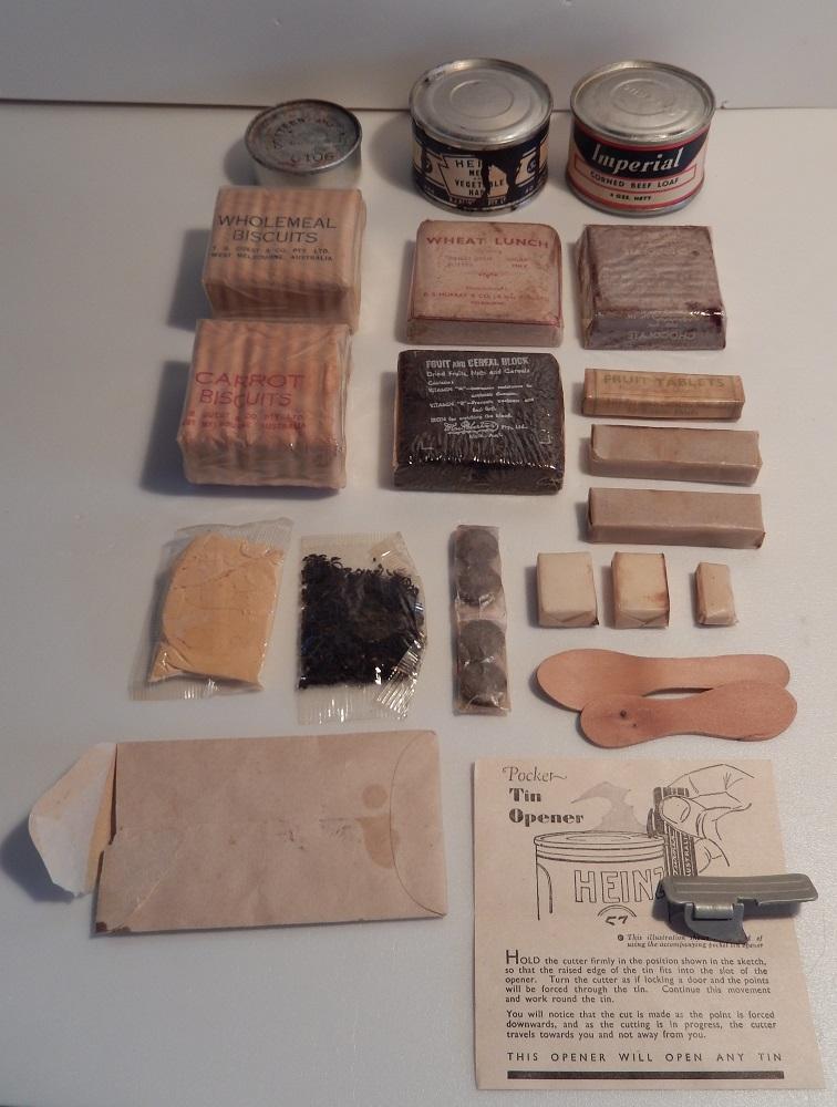 elements de ration australienne WW2 Dscn0412