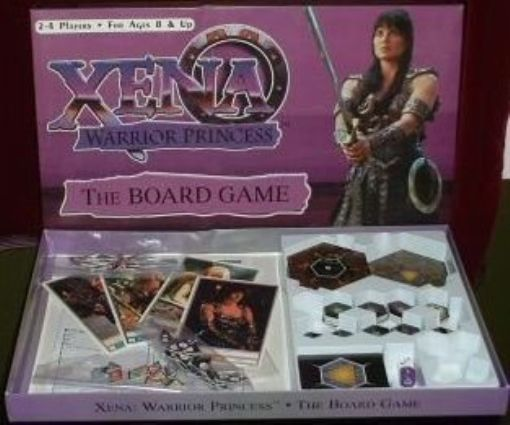 XENA WARRIOR PRINCESS + HERCULES THE LEGENDARY JOURNEYS D004c210