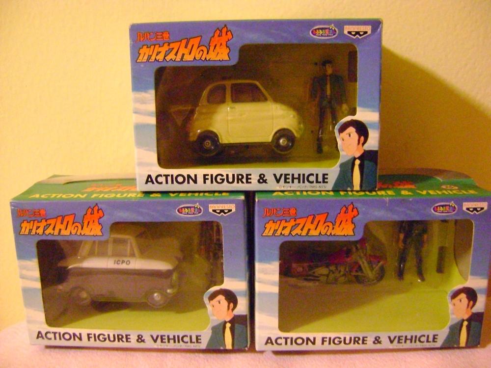 LUPIN TERZO LOTTO VEICOLI VEICOLO BANPRESTO 2000 Lupin_12