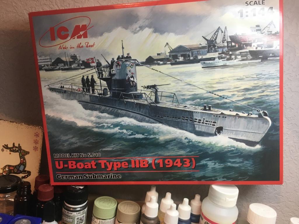 U-Boat IIB 1/144 icm Img-1710