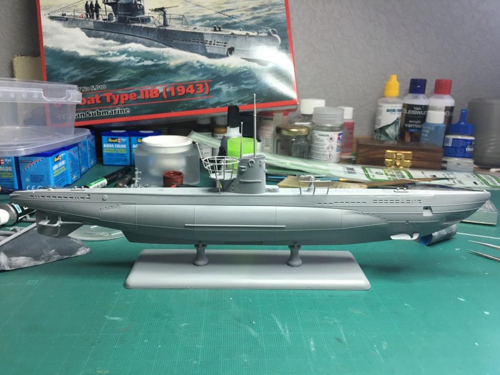 U-Boat IIB 1/144 icm Img-1715