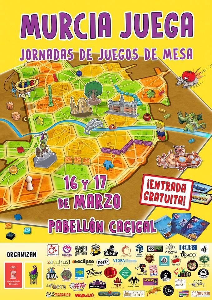 Jornadas Ludicas MURCIAJUEGA 16 y 17 de Marzo 7j2mur10