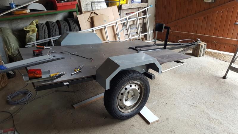 Fabrication remorque moto 20180821