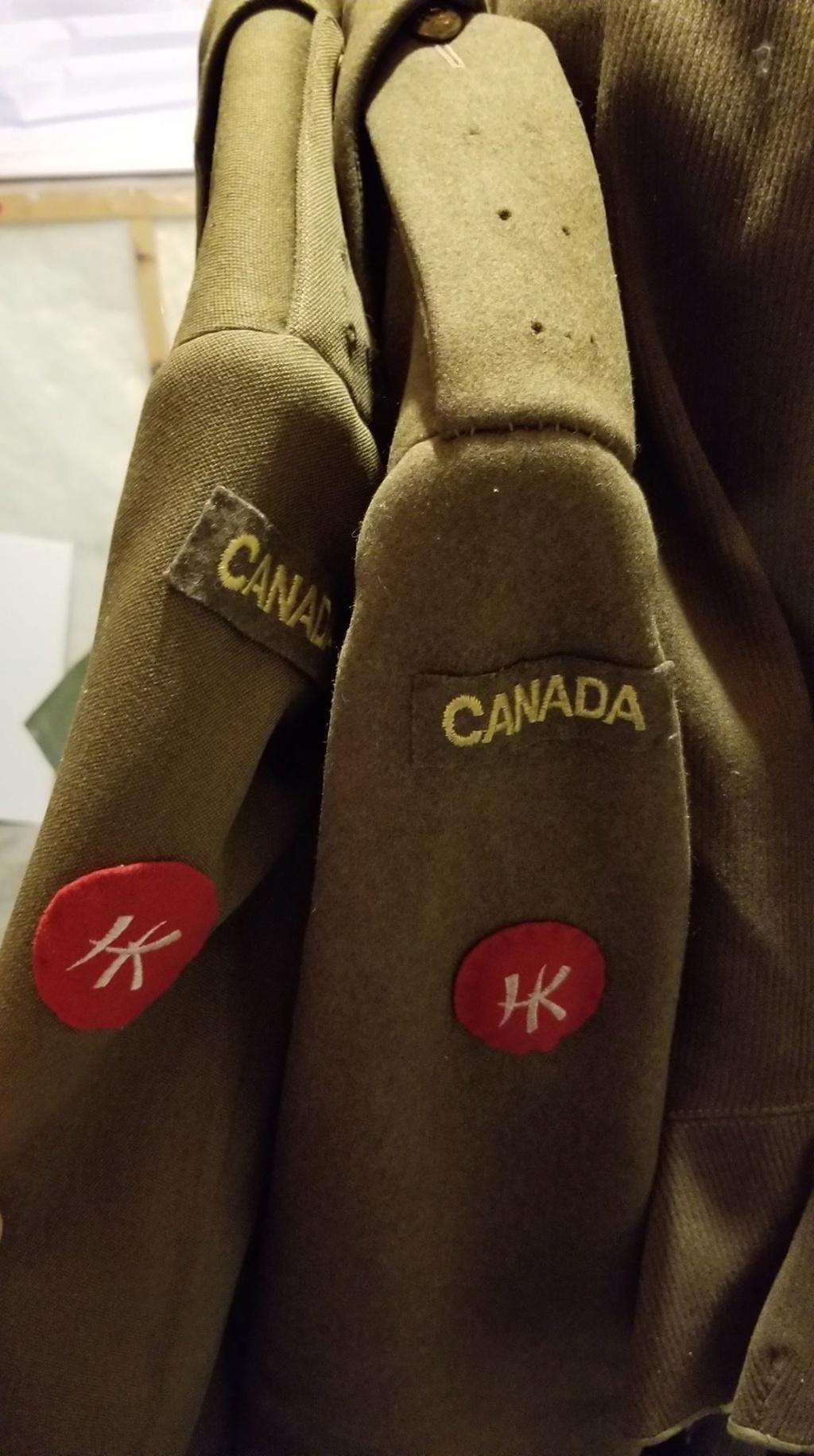 Hong Kong Royal Rifles/ Winnipeg Grenadiers uniforms 76995310