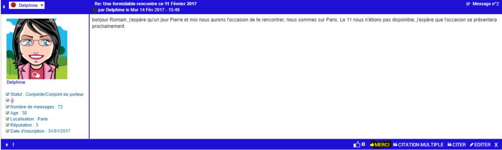 Remercier un membre pour la réponse à l'un de nos sujets Bouton11