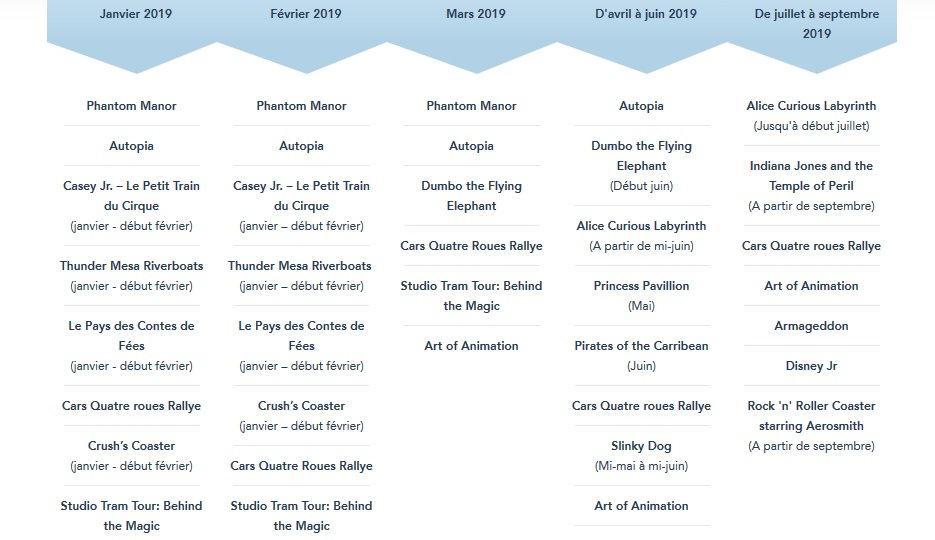 2021 - Calendrier des Saisons, Spectacles, Fermetures et Réhabilitations (voir page 1) Eep_1910