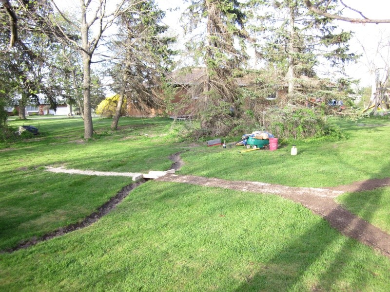 broke ground on my 100 x 60 foot backyard field Img_1513