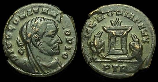 Les monnaies de Consécration de Barzus - Page 6 Chlore10