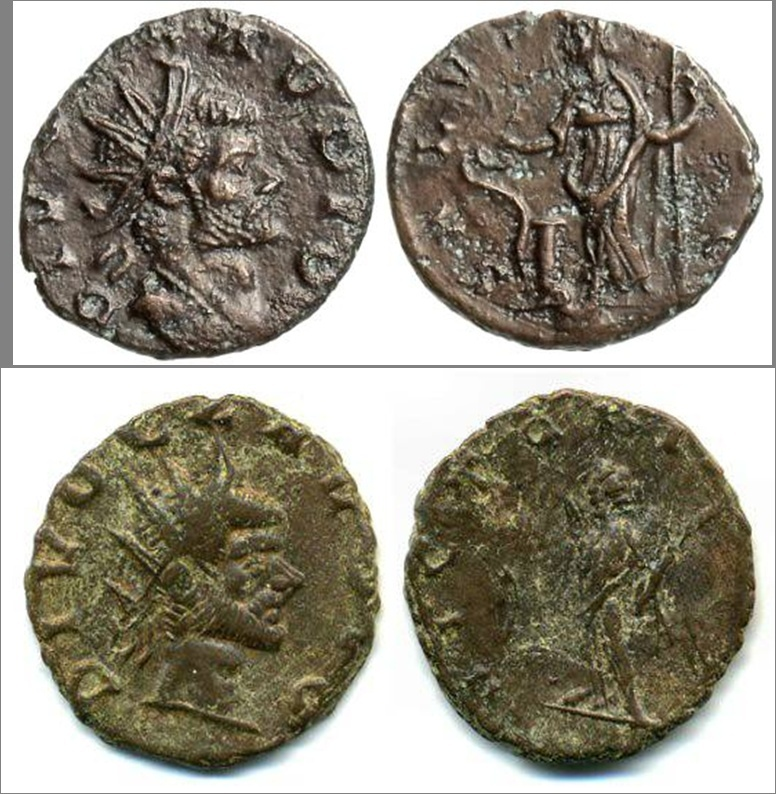 Les monnaies de Consécration de Barzus - Page 6 Divocl11