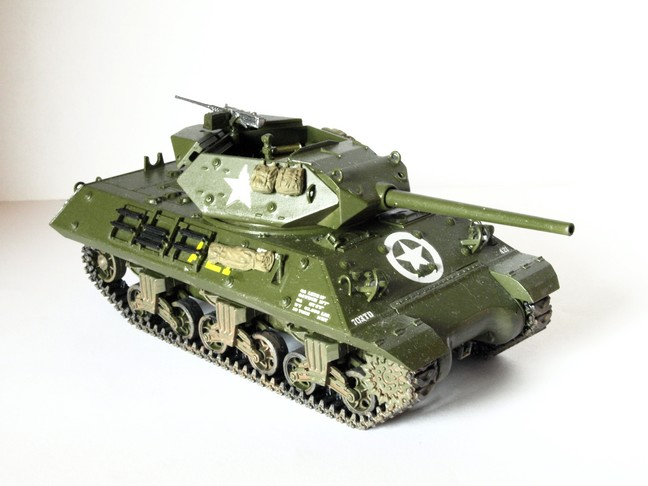 Tank Destroyer M10 [Tamiya-1/48] 09311