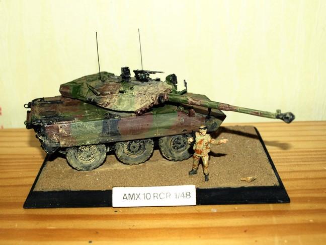 Opération Serval : Les marsouins du 1er RIMA débarquent au Mali [AMX 10RCR - Gasoline - 1/48] P5082713