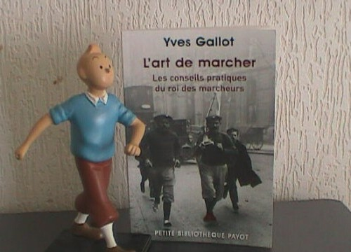 """Thanron B propose """"Le roi des marcheurs"""" de GALLOTY Tintin10"""
