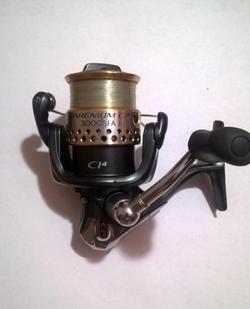 [Vendo][Usato e per pezzi di ricambio] Shimano Rarenium 3000fa Wp_20116