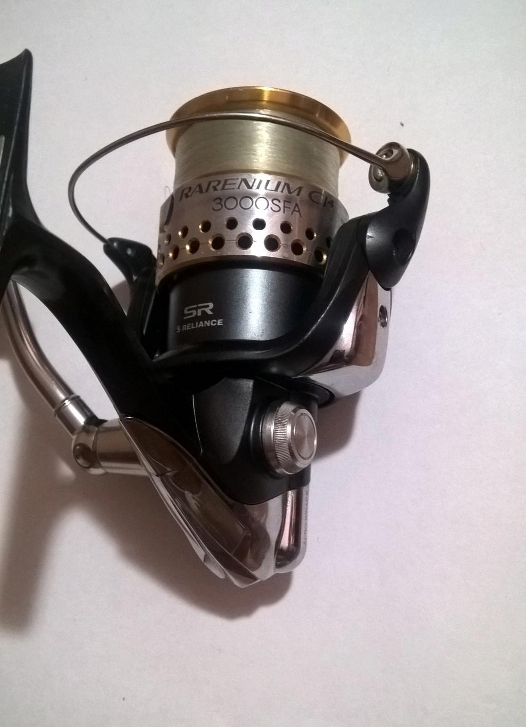 [Vendo][Usato e per pezzi di ricambio] Shimano Rarenium 3000fa Wp_20117