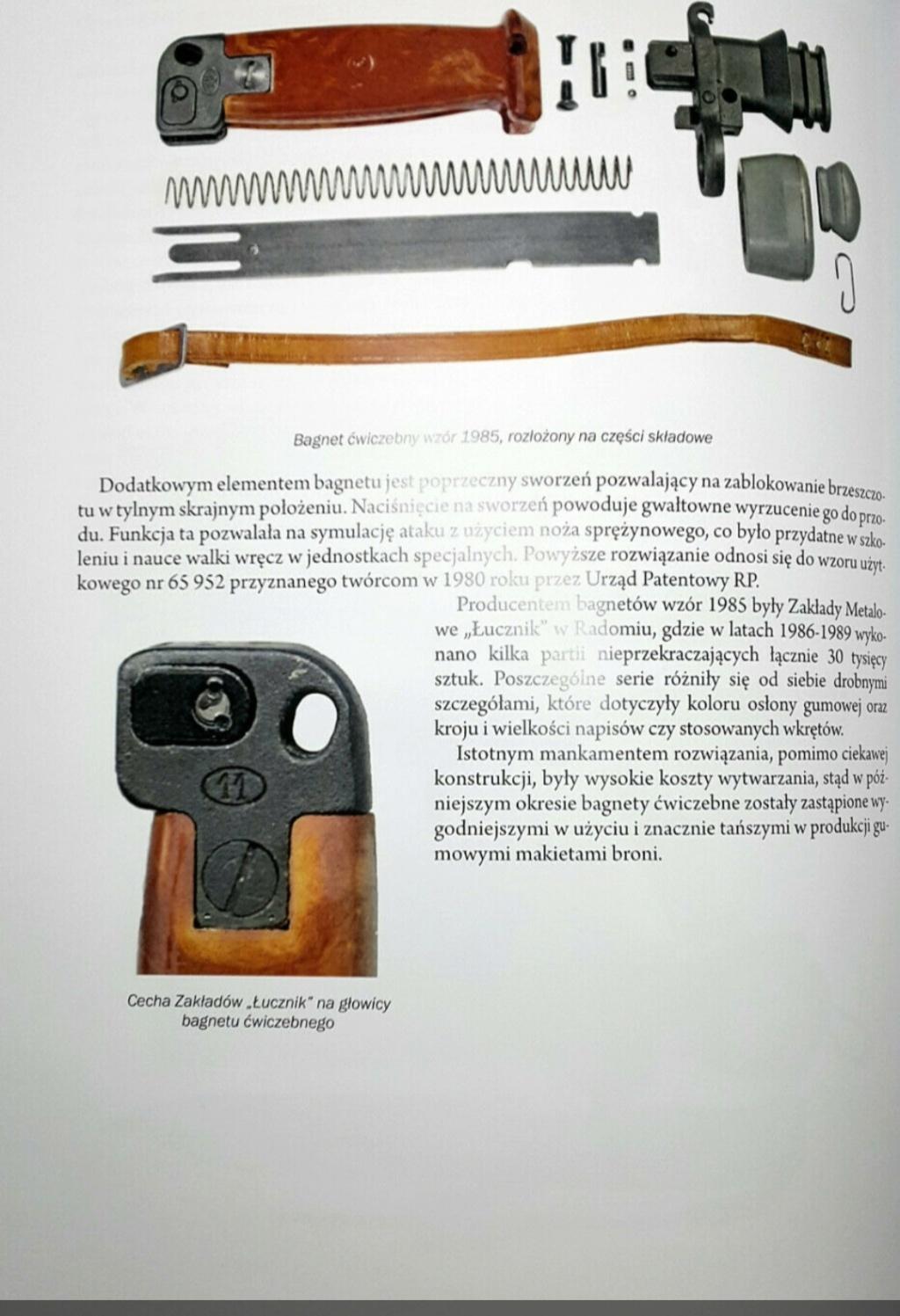 Baïonnette d'AK à lame retractable ,Pologne. 20210418