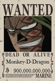 Wanted : Monkey D Dragón  Wanted11