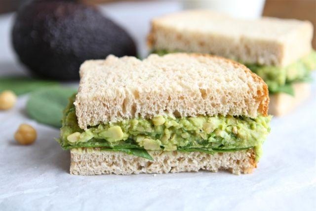 Sandwich aux avocats Smashe10
