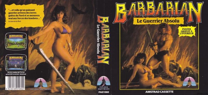 Les plus belles jaquettes du jeu vidéo - Page 4 Barbar10