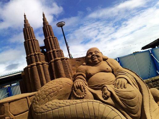 sculptures sur sable... Weston10