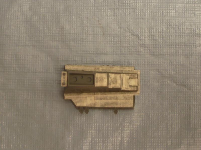 DDG-54 Curtis Wilbur REVELL 1/700 (montage) P1030417