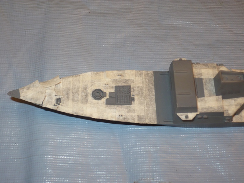 DDG-54 Curtis Wilbur REVELL 1/700 (montage) P1030418