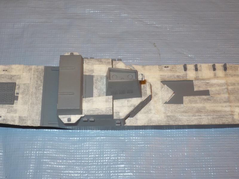 DDG-54 Curtis Wilbur REVELL 1/700 (montage) P1030419