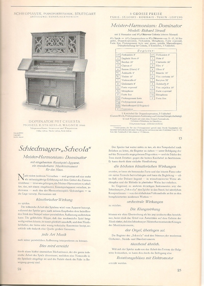 Schiedmayer Scheola organ 00001718