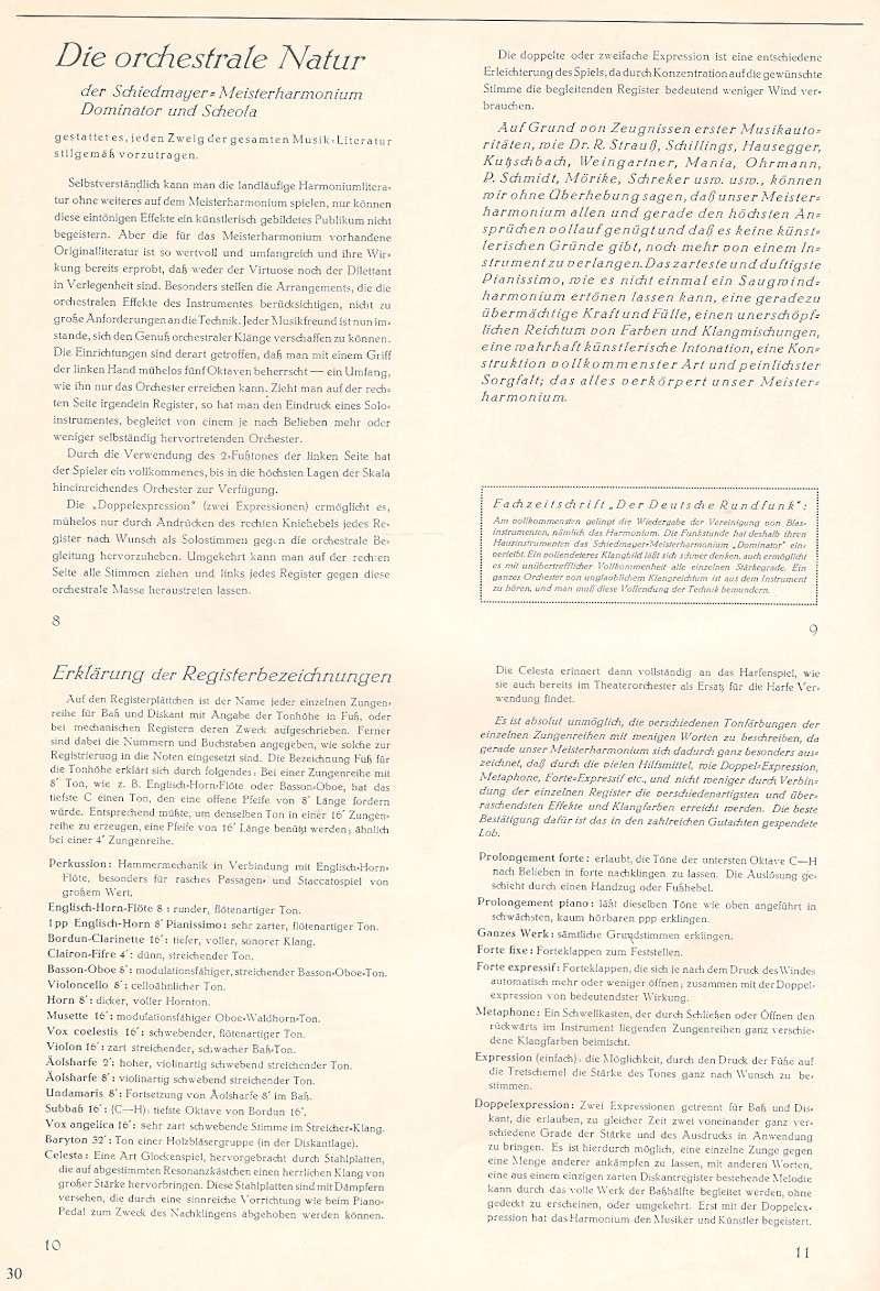 Schiedmayer Scheola organ 00001720