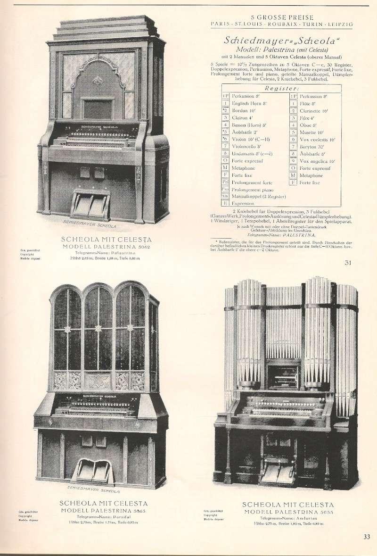 Schiedmayer Scheola organ 00001721
