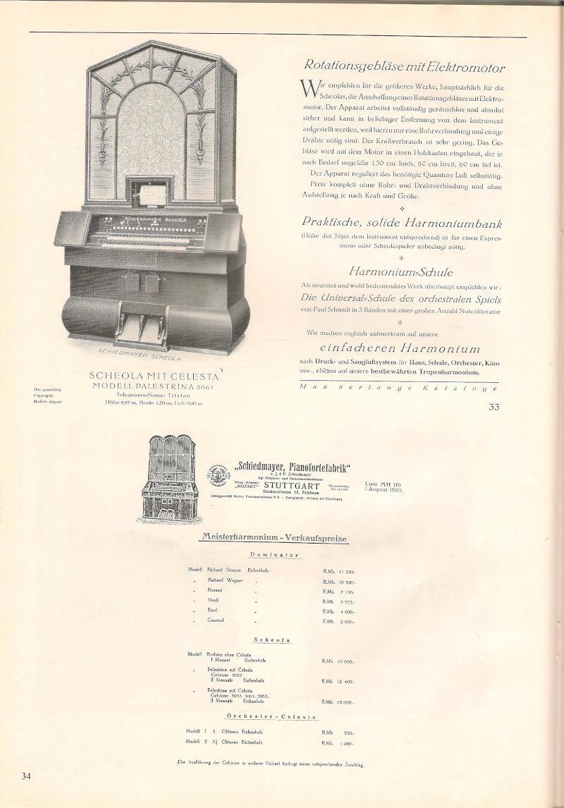 Schiedmayer Scheola organ 00001722