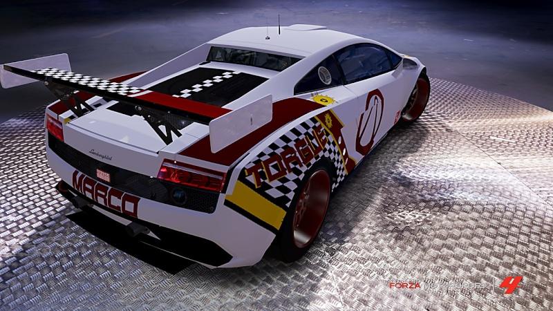 Lamborghini #08 West Yokohama Gallardo LP560-4 Forza-12
