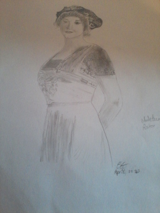 Mes dessins en rapport avec le Titanic. P22-0410