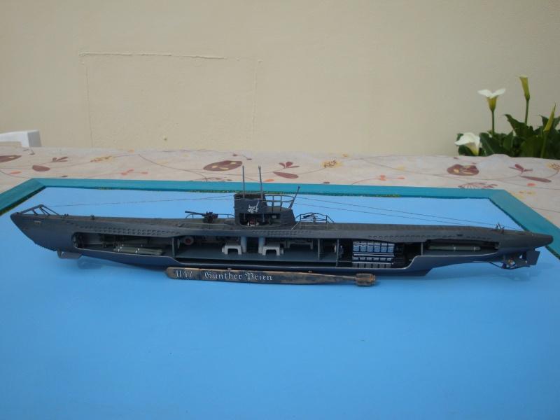 German U-boat U-47 Günther Prien [ REVELL 1/125° ]  Dsc03532