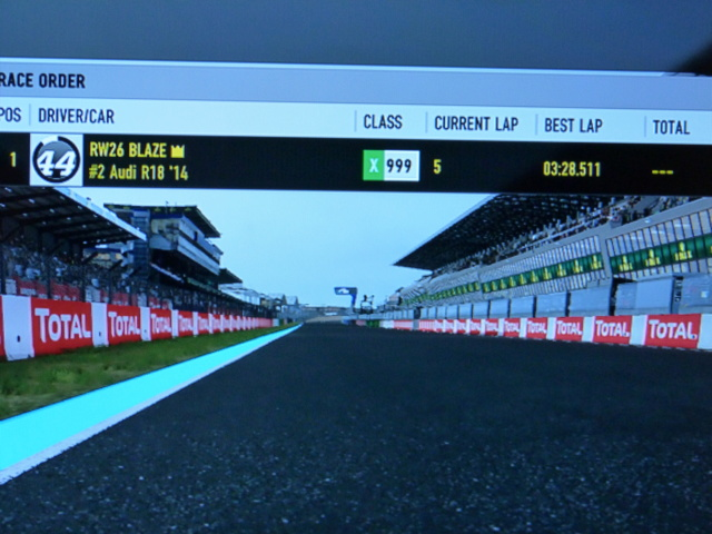 TORA 24 Hours of Le Mans - Rule 5.5 - LMP1 drivers must run a sub 3:30 lap P1070711