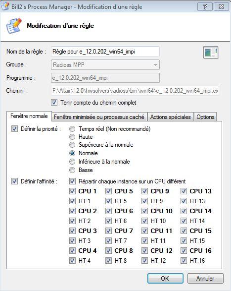 """Option """"répartir chaque instance sur un CPU différent"""" Captur10"""